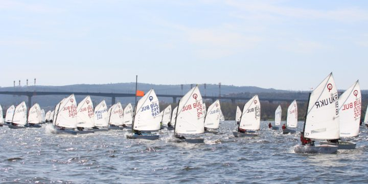 """Another four races on the second day of the regatta """"Briz Spring""""…."""