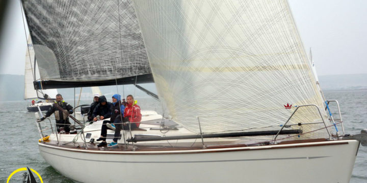 Unfavorable weather conditions did not darken the sailors' desire to compete ……..