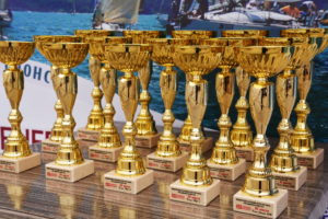 """With short-lasting rain in the last race day and 2 more races finished the regatta """"Port Varna – General Broker cup 2019"""" …….."""