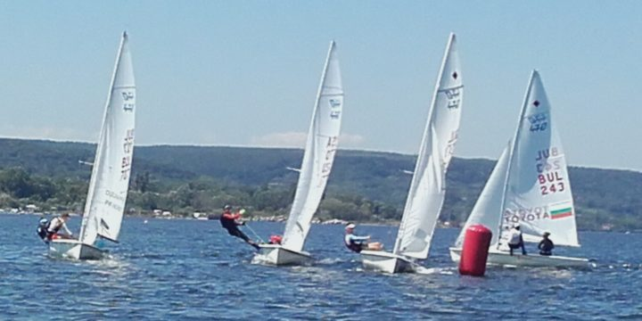 With 11 completed races  in the water area of the Gulf of Varna,  completed the National Championship for Olympic Class in Varna ………