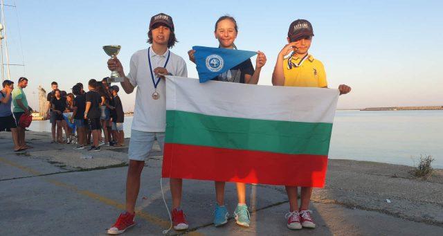 Strong Bulgarian participation on regatta in Greece …..
