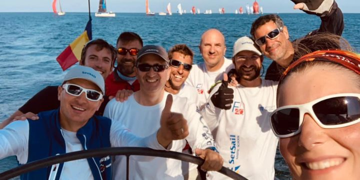 A well-deserved victory for Setsail – The new Sailing Champions of Romania ……