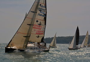 With three races in a strong weather, the National Championship of Keel Yachts for ORC and IRC classes was launched ……..