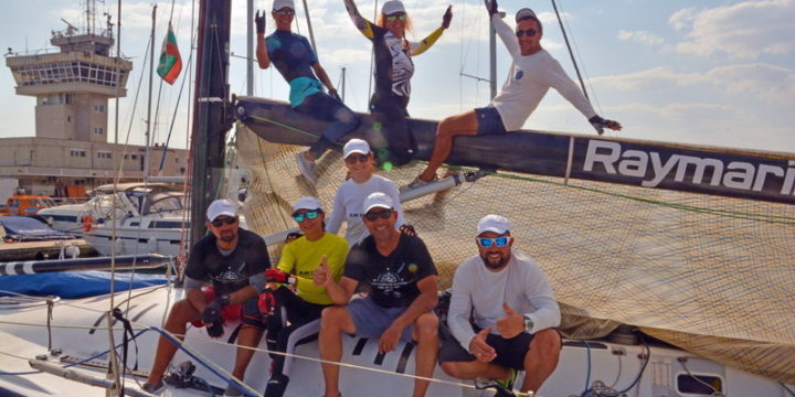 With a delayed sea race and a short distance in the afternoon, the second day of the State Championship for keel yachts passed