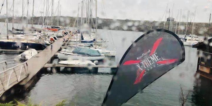 При много ветровито и дъждовно време стартира ден първи от NauticLine Extreme Match Race в Лиману ……