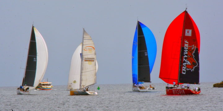 35 yachts join the Coastal race of Rolex Middle sea race ……..