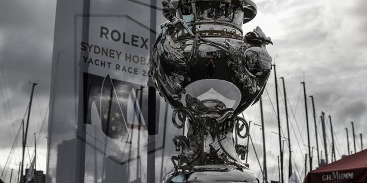 The countdown began less than 40 days before the start of Rolex Sydney Hobart ……