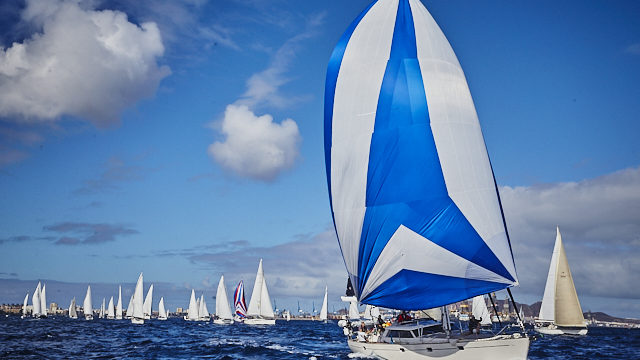 The second ARC fleet launches on its way to Saint Lucia ……