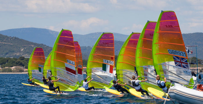 52nd French Olympic Week in Hyeres  ……..