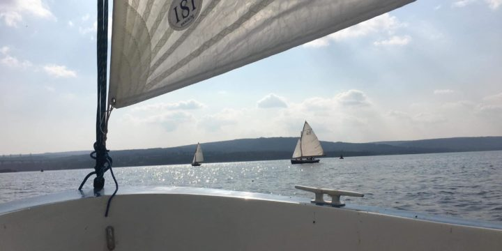 """Days before the beginning of the 64th edition of the Traditional Sailing Regatta  """"Third of March"""", 4 teams started training in Varna's Lake ….."""