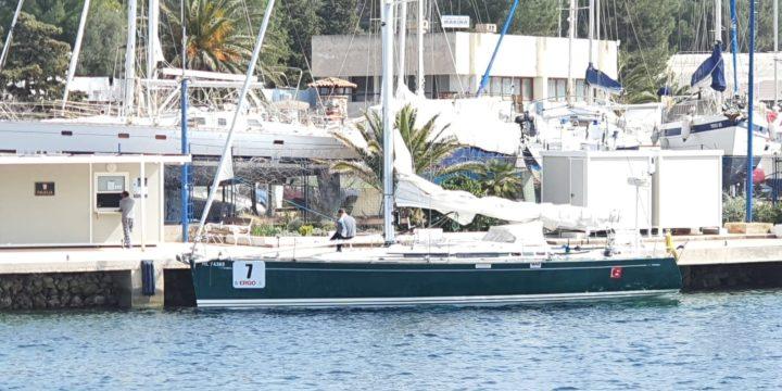 Windwalker yacht safely docked at Mali Losinj marina, Rijeka ……