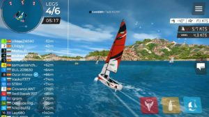 """New 4 races and Medal Race for top 10 fill Day Two of the regatta """"Memories S3S""""….."""