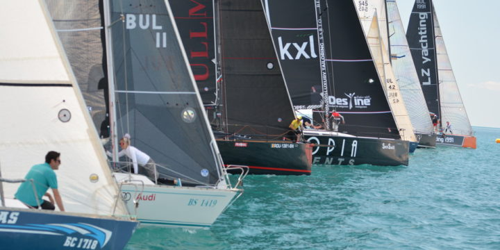 Three races on the first day  set a successful start to the Kaliakria Cup 2020 regatta