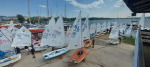 The second race day of the Breeze regatta ended with one competition for a few classes.