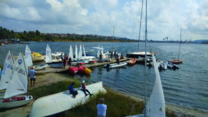 """Temporary ranking of the regatta """"Breeze"""", after the first day of competition …."""