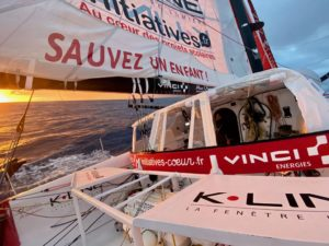 Dalin sails 1,400 nautical miles west of Cape Good Hope, Boss is back in the game ……