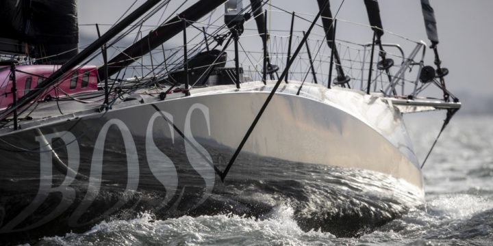 Alex Thomson with HUGO BOSS continues to lead 295 miles South-East of the Azores ….