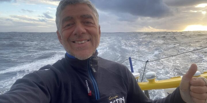 Manuel Cousin (Groupe SÉTIN) finished 23-rd in the Vendée Globe ……