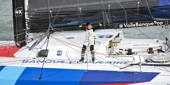 Clarisse Cremer finished 12th in the Vendee Globe, being the first woman who breaks the world record on solo nonstop monohull round ….