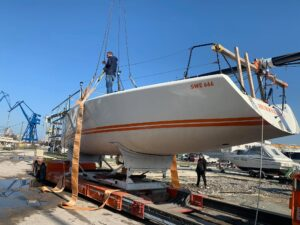 """A new """"jewel"""" has appeared for the sailing season 2021 in Varna …."""