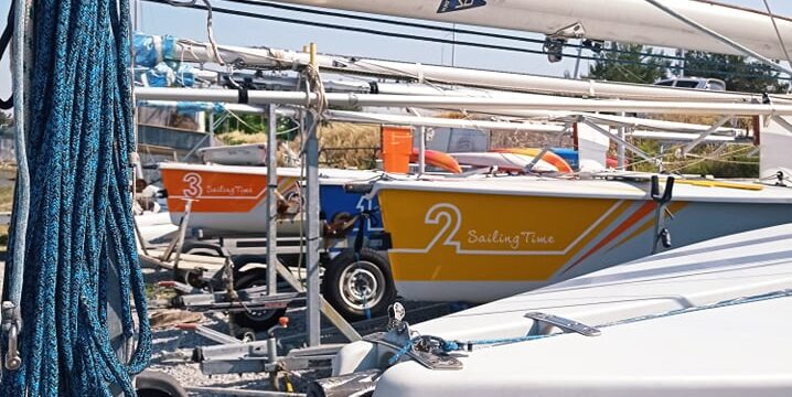 The boats for the BORA Sailing Championship Varna'2021 were launched.