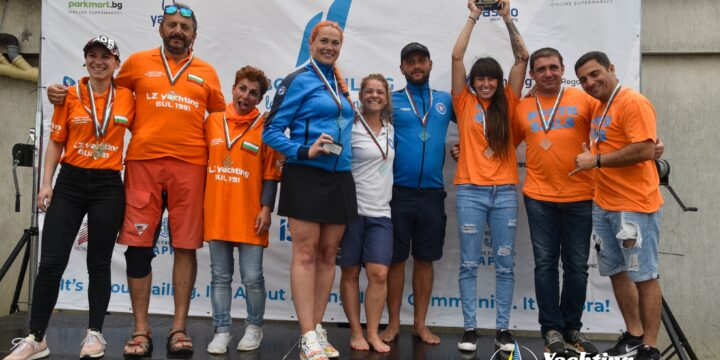 The team of OVK Nessebar 2000 grabbed the trophy in the first round of the Sailing Champions League in Bulgaria.